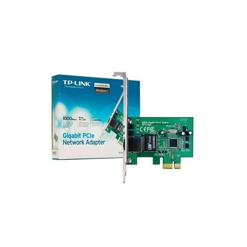Adaptador Tp-Link Network PCI Express Gigabit 100 mbps TG-3468