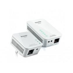Kit TENDA Adaptador y Powerline Wireless N300 P200+PW201A