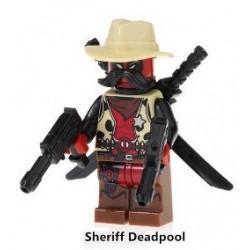 Minifigura Lego Sheriff Deadpool