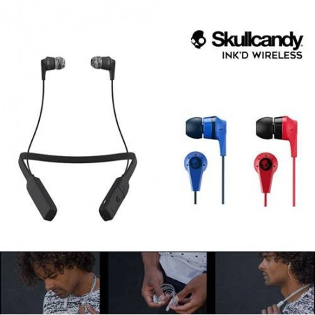 AUDIFONOS INALAMBRICOS SKULLCANDY INK'D BLUETOOTH