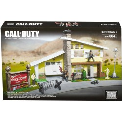 LEGO Mega Bloks Call Of Duty Nuketown II CNG98