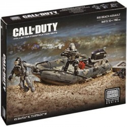 LEGO Mega Bloks 06815 Call of Duty Lancha de asalto