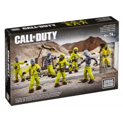 LEGO Mega Bloks Call of Duty Hazmat Zombies Nuketown Mob Playset