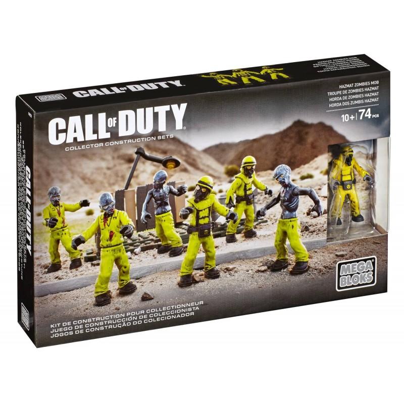 LEGO Mega Bloks Call of Duty Hazmat Zombies Nuketown Mob Playset