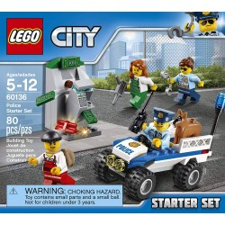 LEGO City - Set de introducción: Policía (60136)-Kartyy | SuperMarket Online