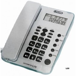TELÉFONO FIJO BLANCO LEBOSS