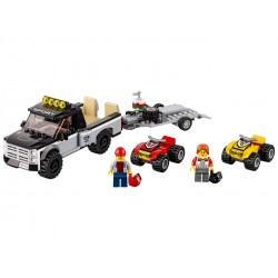 LEGO City Equipo de carreras 60148, el mejor juguete