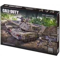 Mega Bloks Call of Duty Puesto de Avanzada de Blindaje Pesado