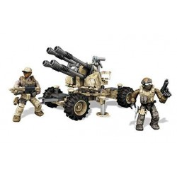 Mega Blocks Colección Call of Duty DkX53 Vehículo Anti-Aviones