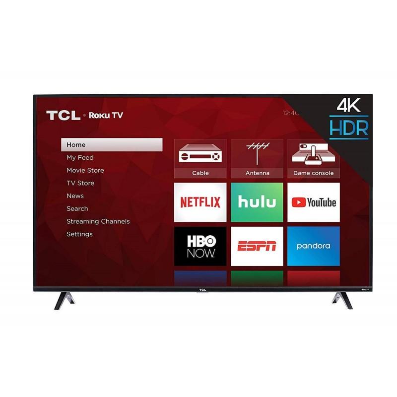 Televisor Smart 4k TCL 50 Pulgadas Led Negro