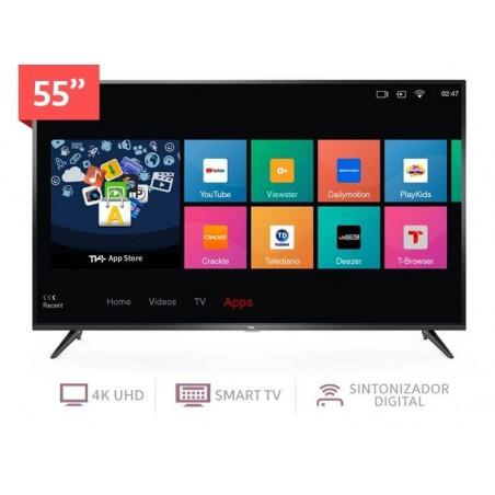 Televisor Smart 4k TCL 55 Pulgadas Negro
