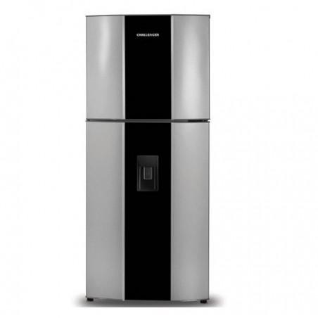 Refrigeradora - Nevera 370L Challenger CR428 Gris Quantium