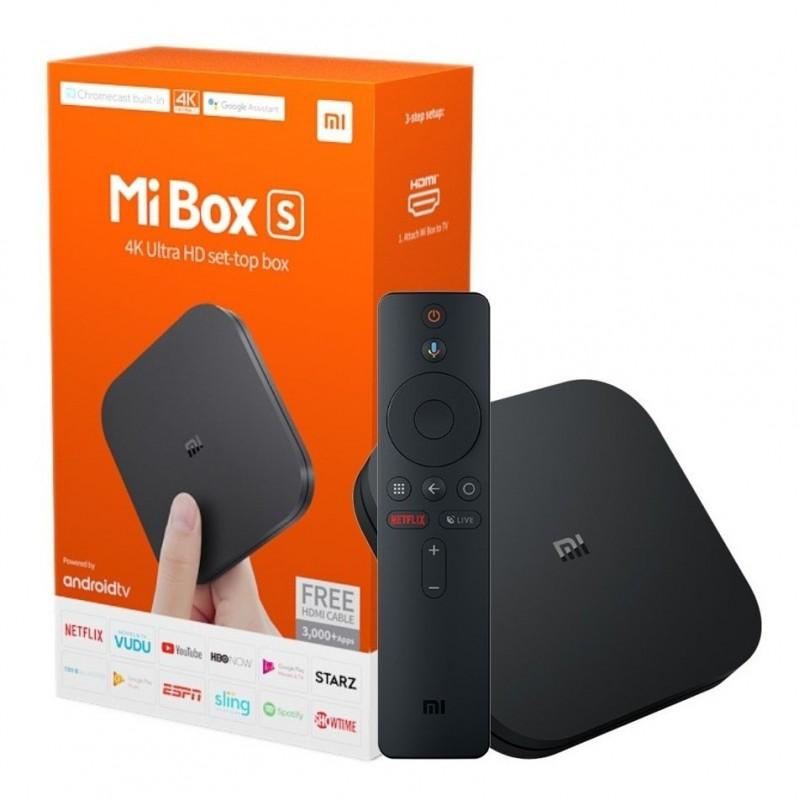 Mi Box S Xiaomi 4k Ultra Hd M19A