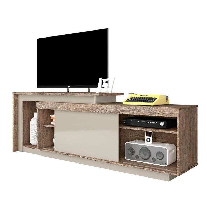 Mesa Para Tv Pegasus 50 pulgadas Naturale/Fendi