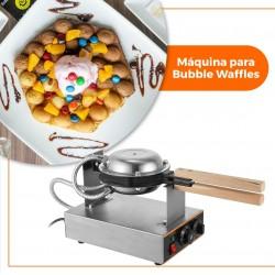 Maquina INDUSTRIAL eléctrica para Bubble Waffles