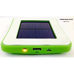 Power Bank Solar, cargador portatil para celular