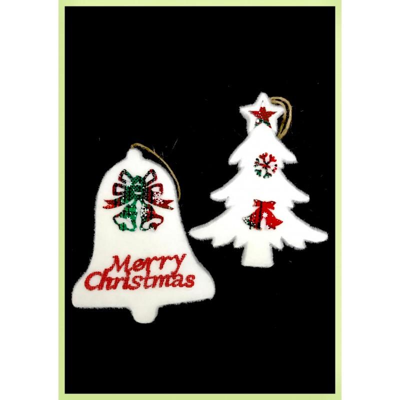 Adorno Navideño HXT Merry Christmas