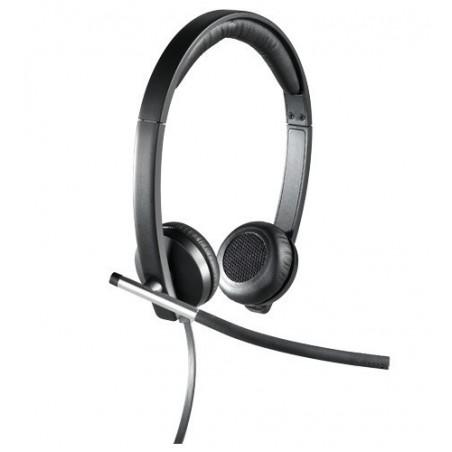 Headset Audífonos Logitech H650E stereo black