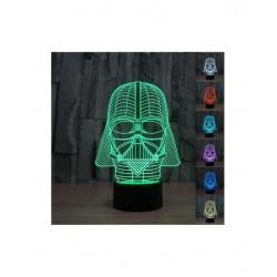 Lámpara 3D STAR WARS varios Modelos