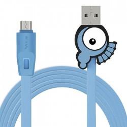 CABLE CARGADOR/MICRO/USB/100CM/DC5V/SALIDA2A