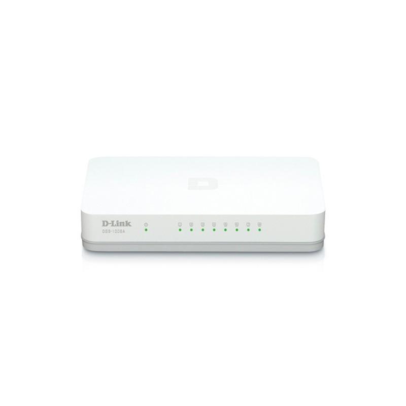 Switch DLink 8 Puertos Gigabit