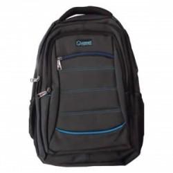 Mochila para Laptop 15,6 pulgadas negra con azul