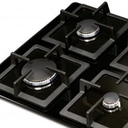 Cocina a Gas de 4 Puestos Challenger SQ 6759 Vidrio Templado