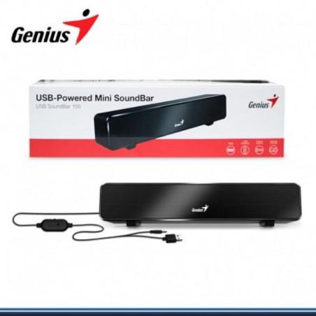 Mini-Soundbar Genius 100 USB BLACK