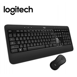 Teclado-Mouse Combo Logitech Mk540 Black Advanced Wireless