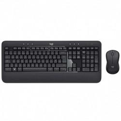 Teclado-Mouse Combo Logitech Mk540 Black Advanced Wireless