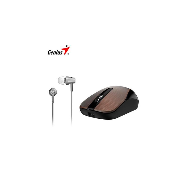 Mouse - Audífono Genius Mh-8015 Combo Coffee