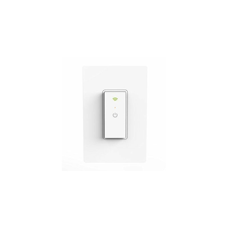 Interruptor de luz Wi-Fi inteligente Rec Ankuoo