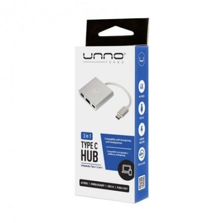Hub TIPO C 3 EN 1 HDMI – USB 3.0