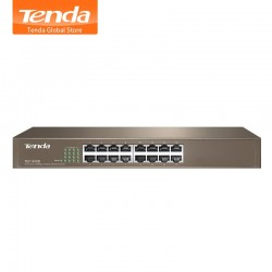 Switch Tenda 16 Puertos Metal 10-100 TEF1016D