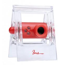 Camara Web INS M014 con Pinza Transparente P/PC USB+jack 3.5mm