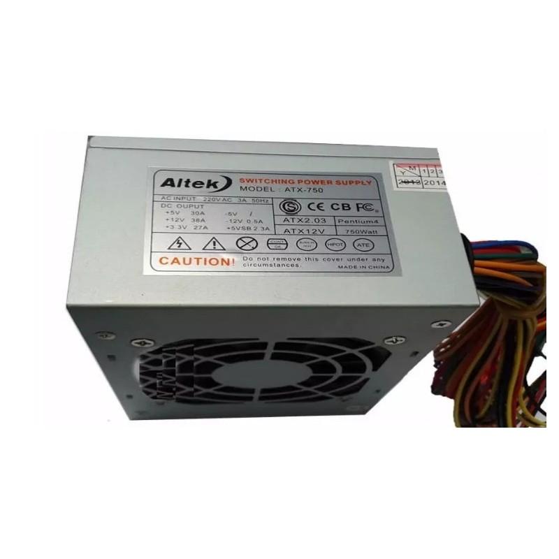 FUENTE DE PODER INS ATX P4-850W -PC - 110V  220V