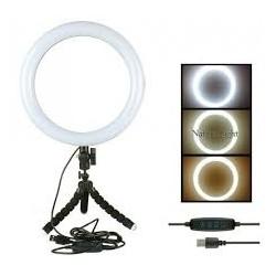 Aros Luz LED Con Trípode Portátil Profesional
