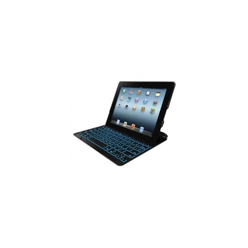 Estuche Teclado Zagg Profolio + retroiluminado para iPad - Negro