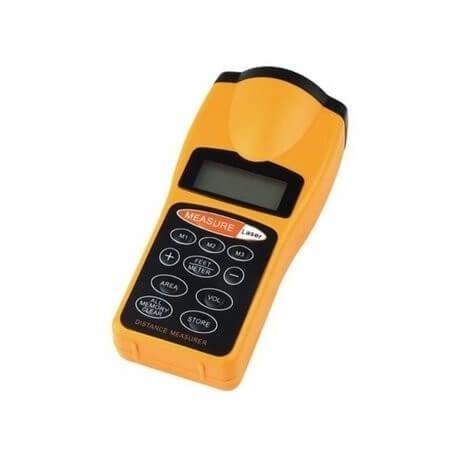 Medidor de Distancia Ultrasonico Con Puntero Láser