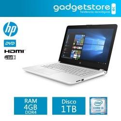"""Laptop Hp 14-Bs011la Intel Core I3 Windows 10 RAM 4GB DD 1TB 14 """""""