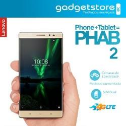 Lenovo Phab 2 4G Doble Chip - Celular + Tablet - Dorado