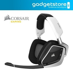 Auriculares Over-Ear Corsair Inalámbricos Gamer Void Pro Rgb - Blanco
