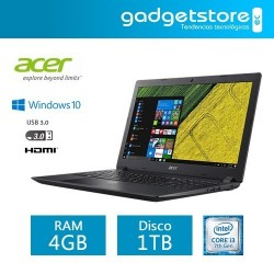 Laptop Acer Aspire 3 Core i3 windows 10 RAM 4GB DDR4 1TB 15.6""