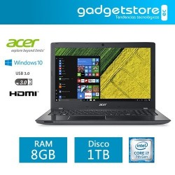 Laptop Acer Aspire E5-575 Intel Core I7 Windows 10 RAM 8gb DD1TB 15´´