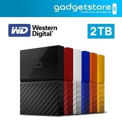 DISCO DURO EXTERNO 2TB WESTERN DIGITAL MY PASSPORT 2016 WD USB 3.0