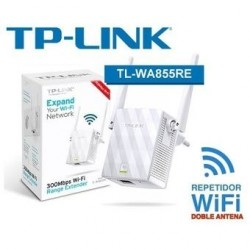 REPETIDOR WIFI WIRELESS N EXTENSOR TP-LINK TL-WA855RE 300MBPSRepetidor Wifi Extensor Wireless Tp_link Amplia Se al Poder-Kartyy | SuperMarket Online