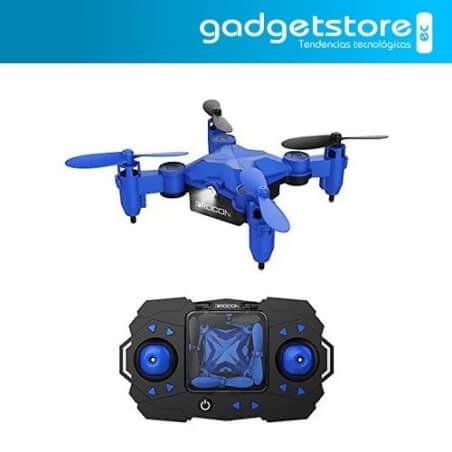 Mini Drone Dropcam 901H giratorio para niños Cuadricoptero Azul