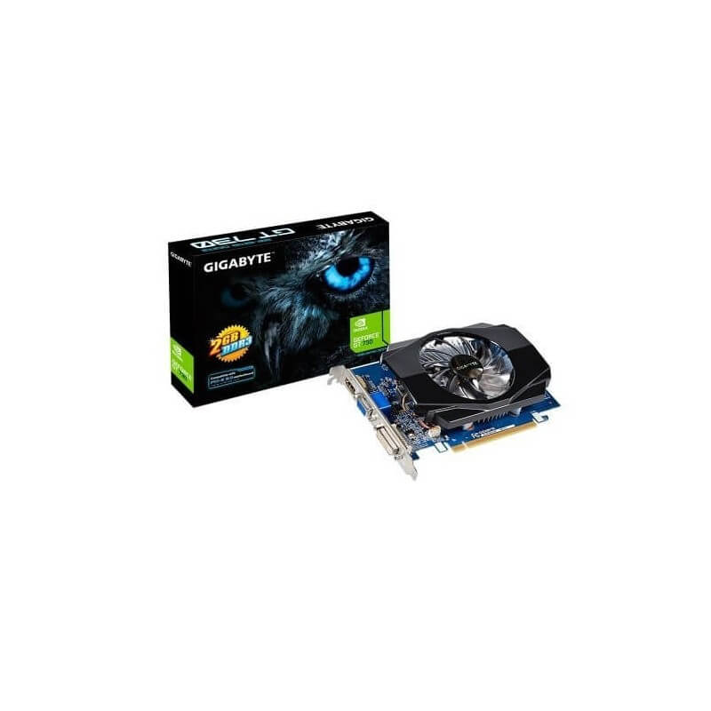 TARJETA DE VIDEO GIGABYTE NVIDIA GT-730 2GB/64BIT/DDR5 PCI EXPRESS2.0