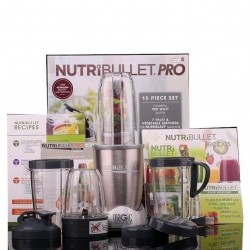 Magic Bullet Nutribullet Pro 900 Blender/mixer (15 Piezas)