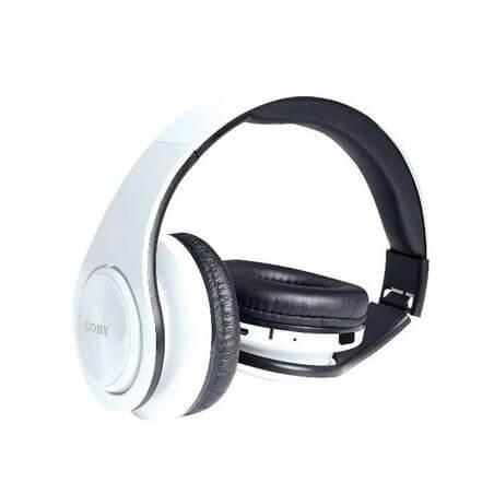 Audífonos Inalámbricos CHBT611WHT Coby - Blanco